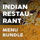 Indian Restaurant Menu Print Bundle 2