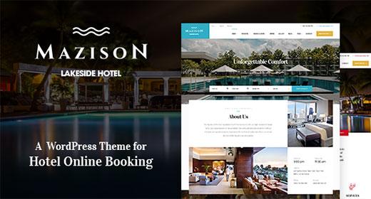 Top Hotel & Resort Booking WordPress Themes