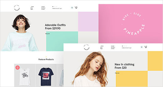 Minimal WooCommerce WordPress Themes