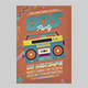 80s Party Flyer Template - GraphicRiver Item for Sale