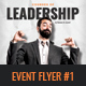 Leadership Courses Event Flyer - GraphicRiver Item for Sale