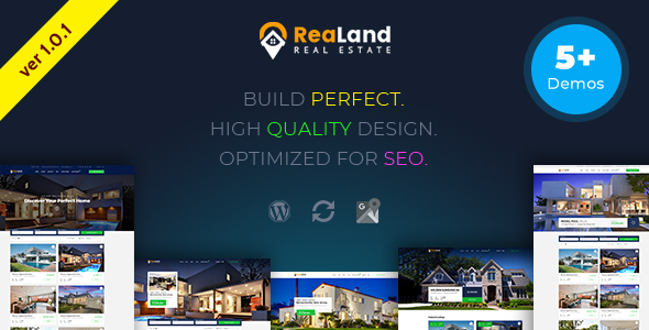 ReaLand – Real Estate Responsive WordPress Theme