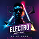 Elecro Party Flyer - GraphicRiver Item for Sale