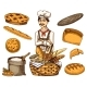 Culinary Boss, Chef Cooker, Baker in Apron. - GraphicRiver Item for Sale