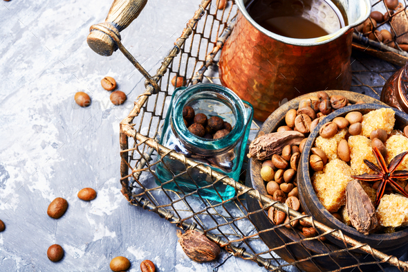 Roasted coffee beans - Stock Photo - Images
