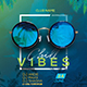 Chill Vibes Party Flyer - GraphicRiver Item for Sale