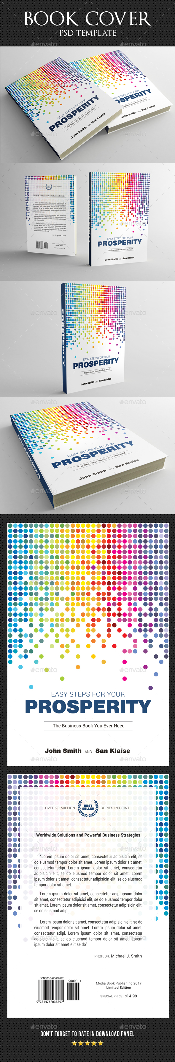 Book Cover Template 46 - Miscellaneous Print Templates