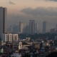 Early Dawn in the Capital of the Philippines in Manila. The Lights of Buildings. Shooting the - VideoHive Item for Sale