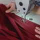 The Seamstress Sews on an Industrial Sewing Machine - VideoHive Item for Sale