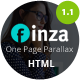 Finza - One Page Parallax