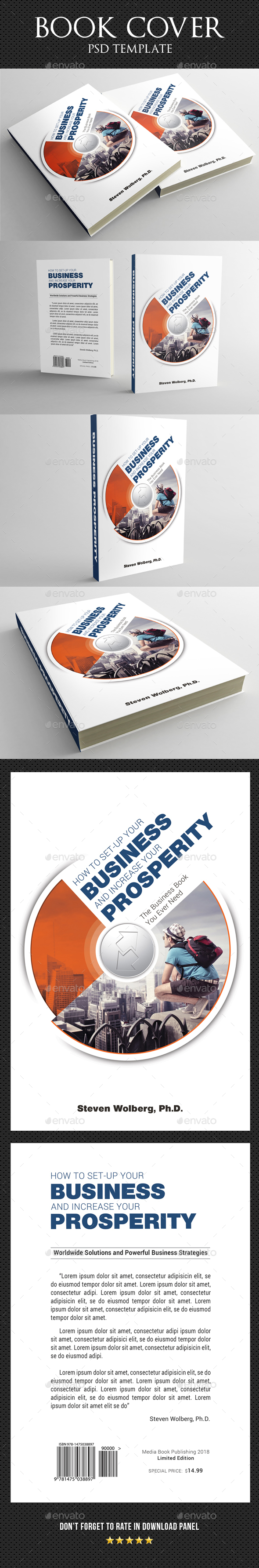 Book Cover Template 47 - Miscellaneous Print Templates