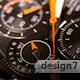 Classic Chronograph Wristwatch 0622 - VideoHive Item for Sale
