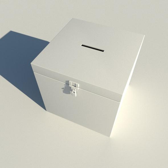 Ballot box vote - 3DOcean Item for Sale
