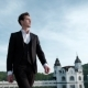 Young Businessman Walking in the Park and Looking Around - VideoHive Item for Sale
