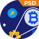 Mining - Bitcoin Mining PSD Template - ThemeForest Item for Sale