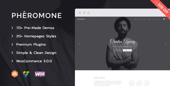 Pheromone - Creative Multi-Concept WordPress Theme | Prosyscom Tech 1