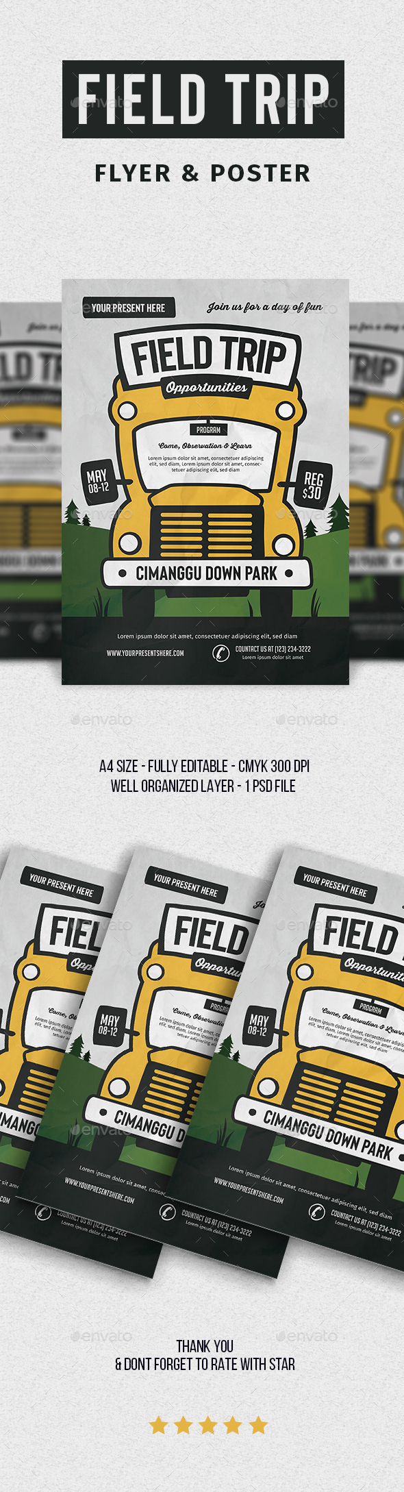 Field Trip Event Flyer - Events Flyers