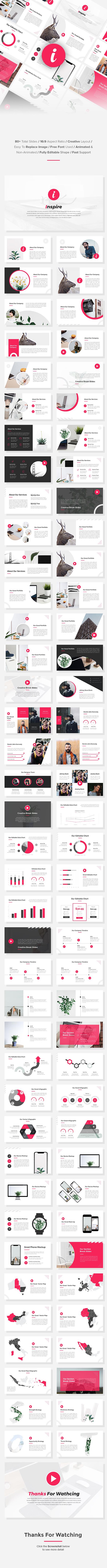 Inspire - Creative PowerPoint Template - Creative PowerPoint Templates