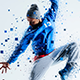 Pixel Shatter Photoshop Action - GraphicRiver Item for Sale