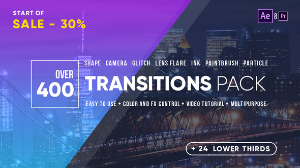 Videohive Transitions 21861548 - Free download