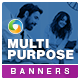 Multipurpose Banner Set