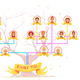 Family Tree Infographic Avatars