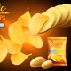 Potato Chips Advertising Background