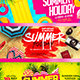 Summer Party Facebook Cover - GraphicRiver Item for Sale