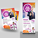 Job Fair Flyer with Roll-up Bundle