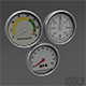 3 Car Meter - 3DOcean Item for Sale