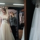 Fashion Tailor Is Helping Bride Choose Wedding Dress. Wedding Gown Fitting. Fashion Look - VideoHive Item for Sale