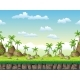 Seamless Cartoon Nature Background - GraphicRiver Item for Sale