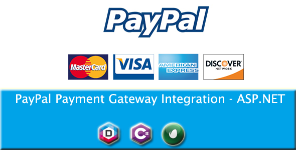 PayPal Payment Gateway Integration - ASP.NET - CodeCanyon Item for Sale