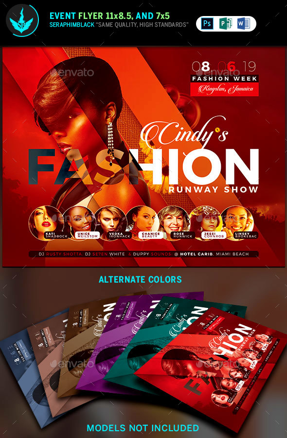 Fashion Conference Flyer Template 3 - Events Flyers