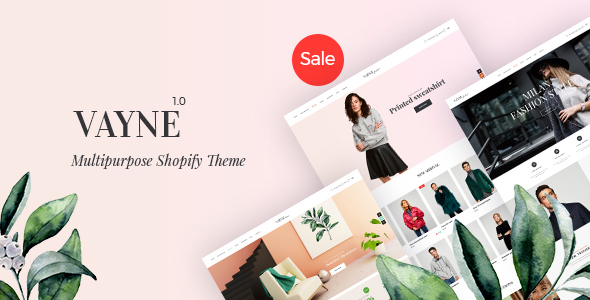 Image of Vayne - Multipurpose Shopify Theme