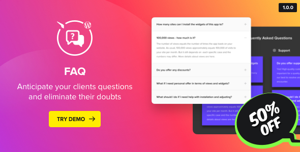 Accordion FAQ Plugin for WordPress - CodeCanyon Item for Sale