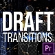 Draft Transitions - VideoHive Item for Sale