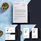 Letterhead with Business Card - GraphicRiver Item for Sale