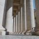 Best View Through Columns St. Peter's Square, Rome, Vatican Columns - VideoHive Item for Sale