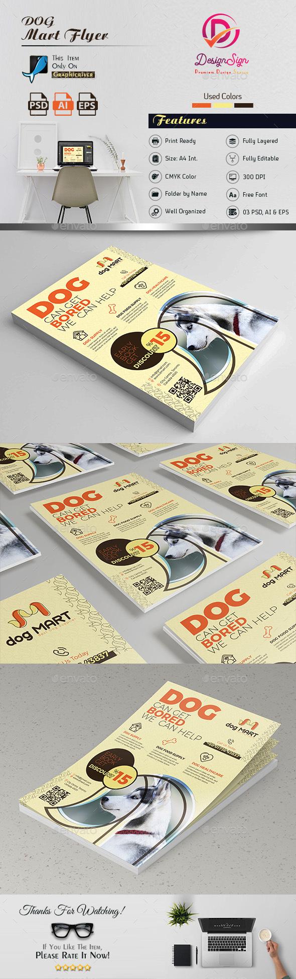 Dog Flyer - Commerce Flyers