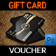 Gift Voucher Card Template Vol.27