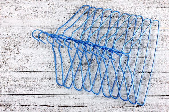 Clothe Hangers - Stock Photo - Images