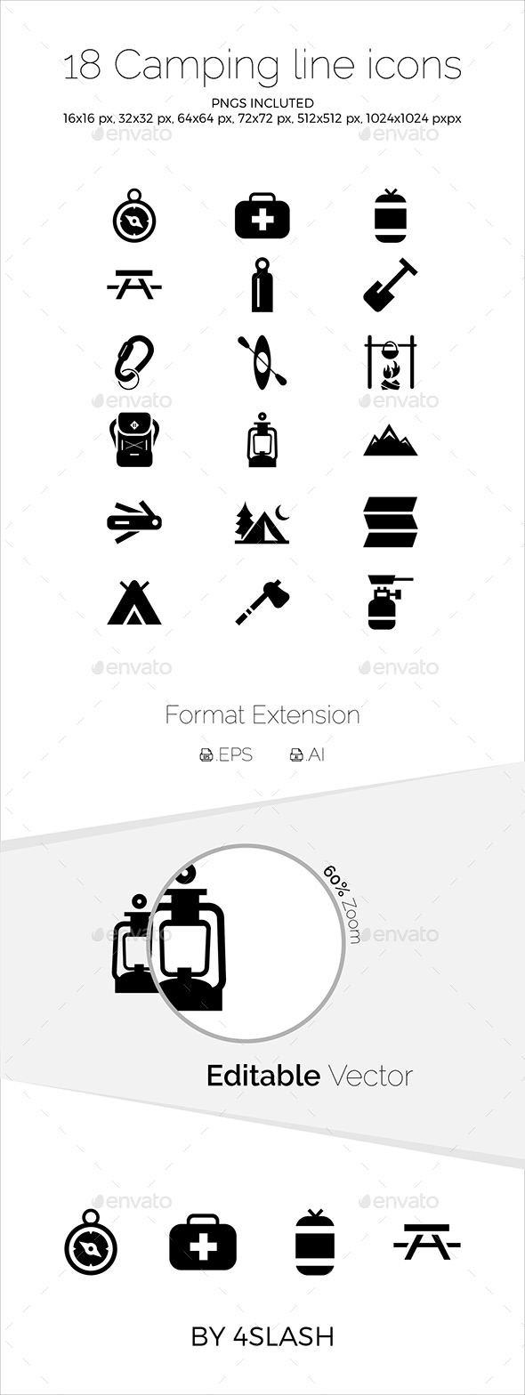 Camping Icons - Icons