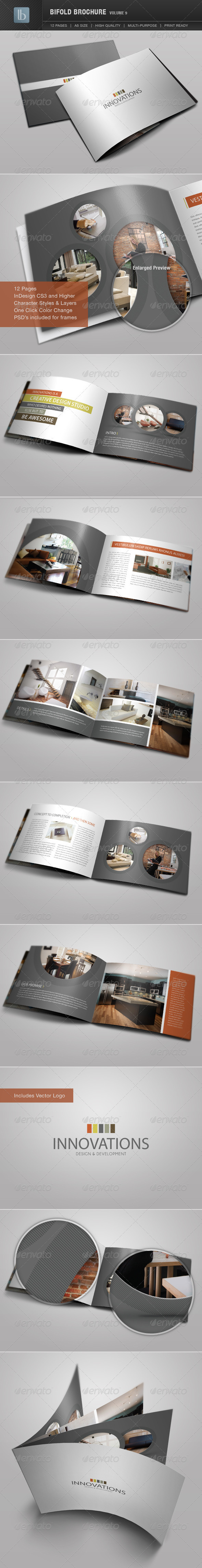 Bifold Brochure | Volume 9 - Corporate Brochures