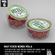 Fast Food Boxes Vol.6:Take Out Packaging Mock Ups - GraphicRiver Item for Sale