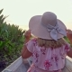 Female Tourist in Hat Riding Boat on Thale Noi Waterfowl Reserve Lake - VideoHive Item for Sale
