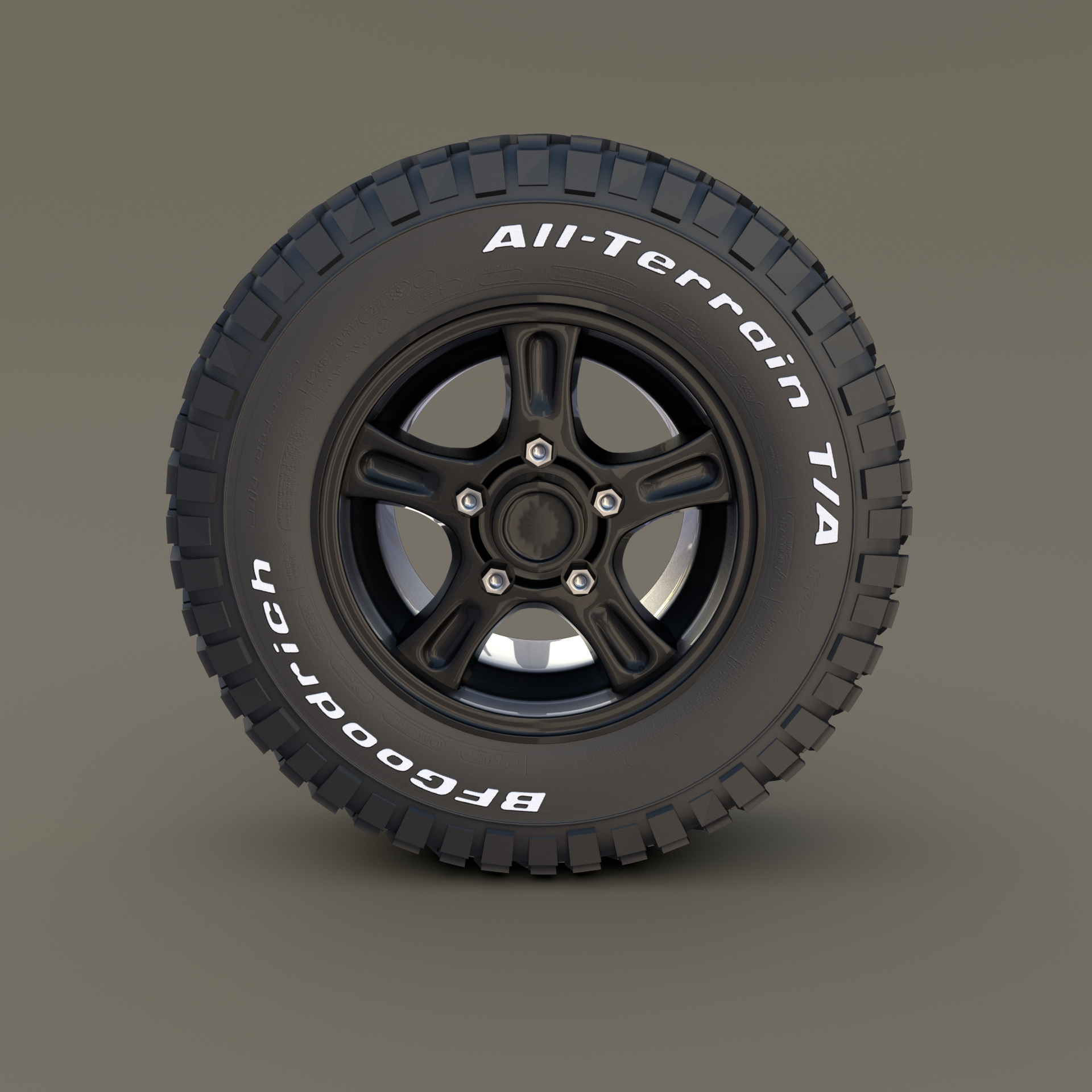 Offroad Alloy Wheel MUD