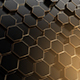 Black Hexagon Loop - VideoHive Item for Sale