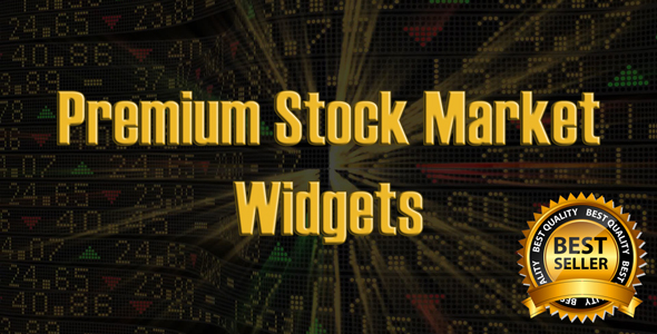 Premium Stock & Forex Market Widgets | PHP Plugin - CodeCanyon Item for Sale