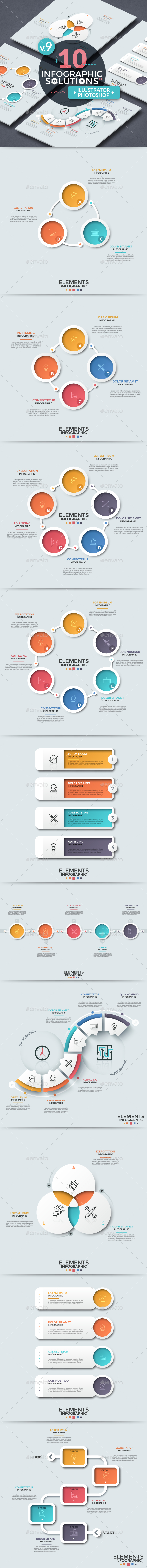Infographic Solutions. Part 9 - Infographics